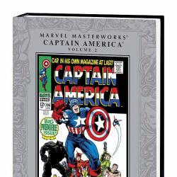 MARVEL MASTERWORKS: CAPTAIN AMERICA VOL. 2 COVER
