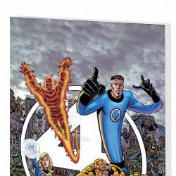FANTASTIC FOUR VISIONARIES: GEORGE PEREZ VOL. 1 COVER