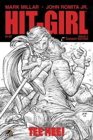 Hit-Girl (2012) #5 ((Romita Sketch Variant Cover Edition))
