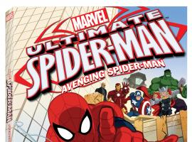Ultimate Spider-Man: Avenging Spider-Man DVD box art