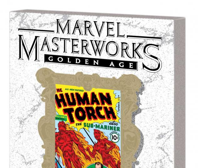 MARVEL MASTERWORKS: GOLDEN AGE HUMAN TORCH VOL. 1 TPB VARIANT (DM ONLY)