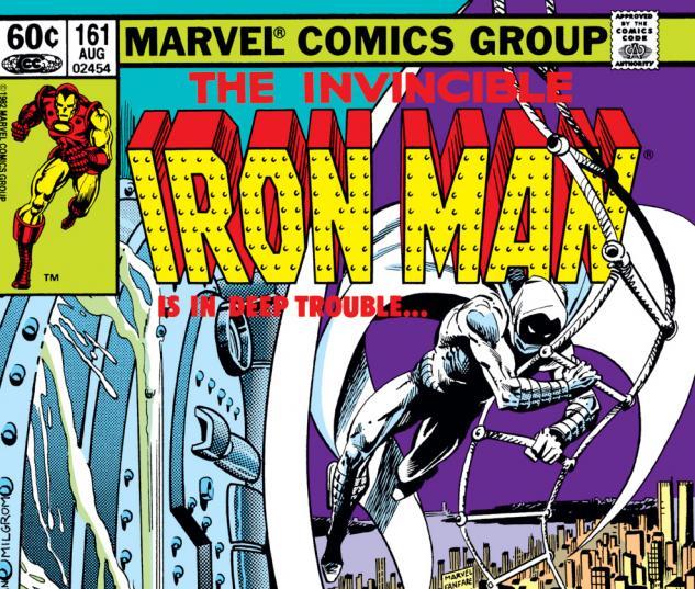 Iron Man (1968) #161 Cover