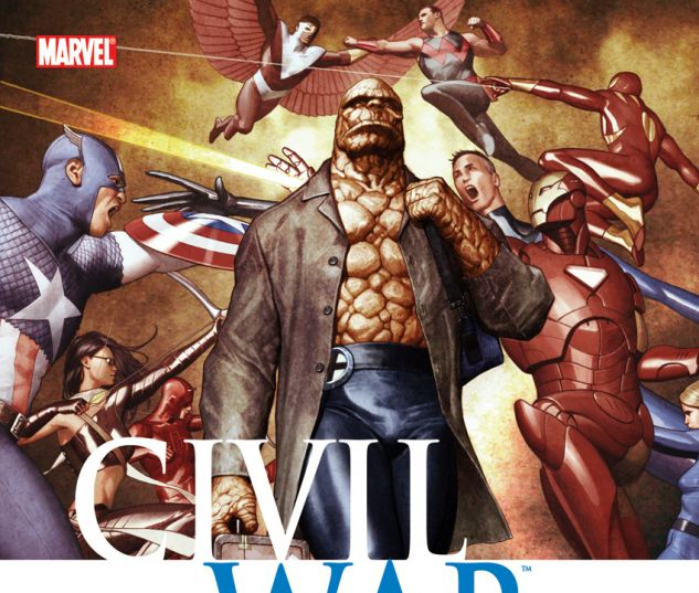 Civil War: Fantastic Four (2010) HC