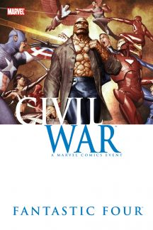 Civil War: Fantastic Four (Hardcover)