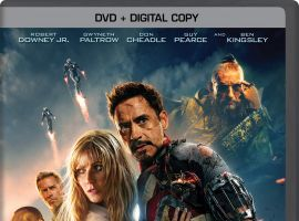 Iron Man 3 DVD box art