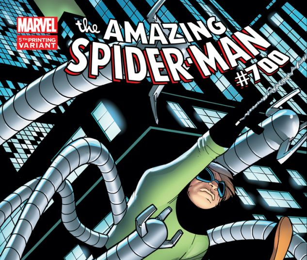 AMAZING SPIDER-MAN 700 RAMOS 5TH PRINTING VARIANT (WITH DIGITAL CODE)