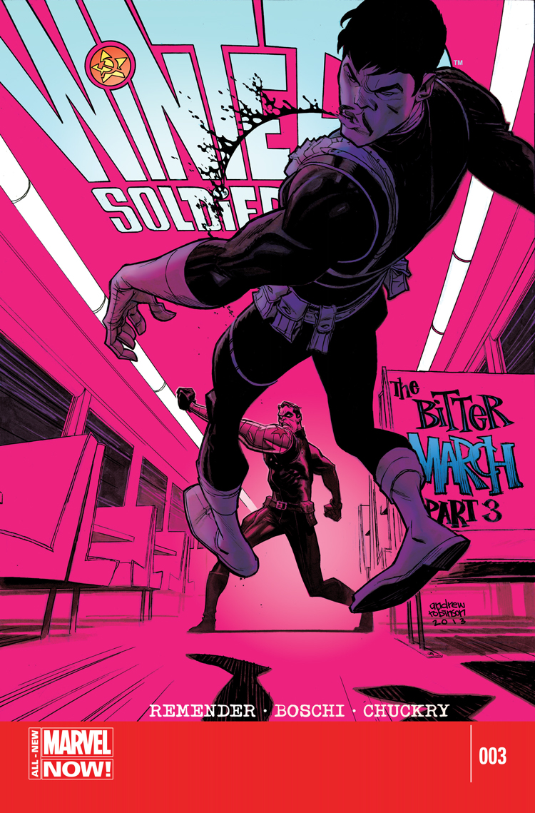 Winter Soldier: The Bitter March (2014) #3