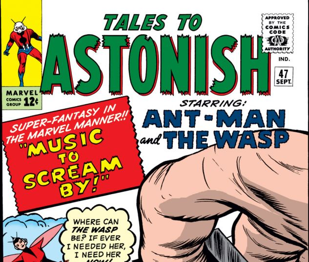 Tales to Astonish (1959) #47 Cover
