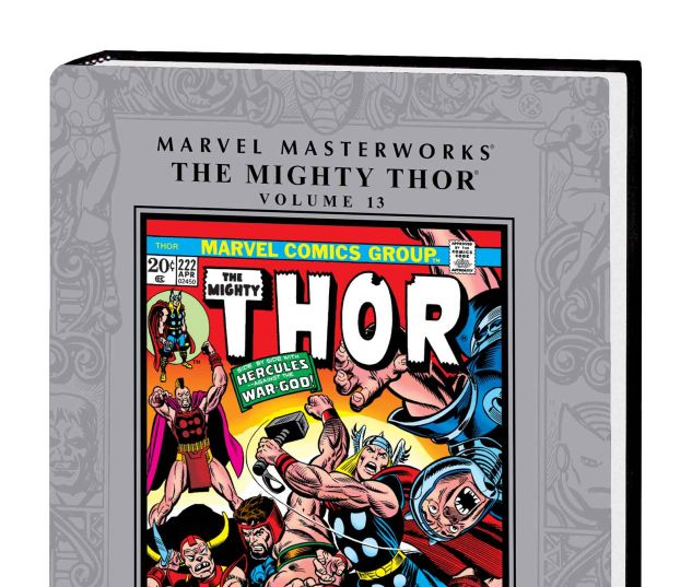 MARVEL MASTERWORKS: THE MIGHTY THOR VOL. 13 HC