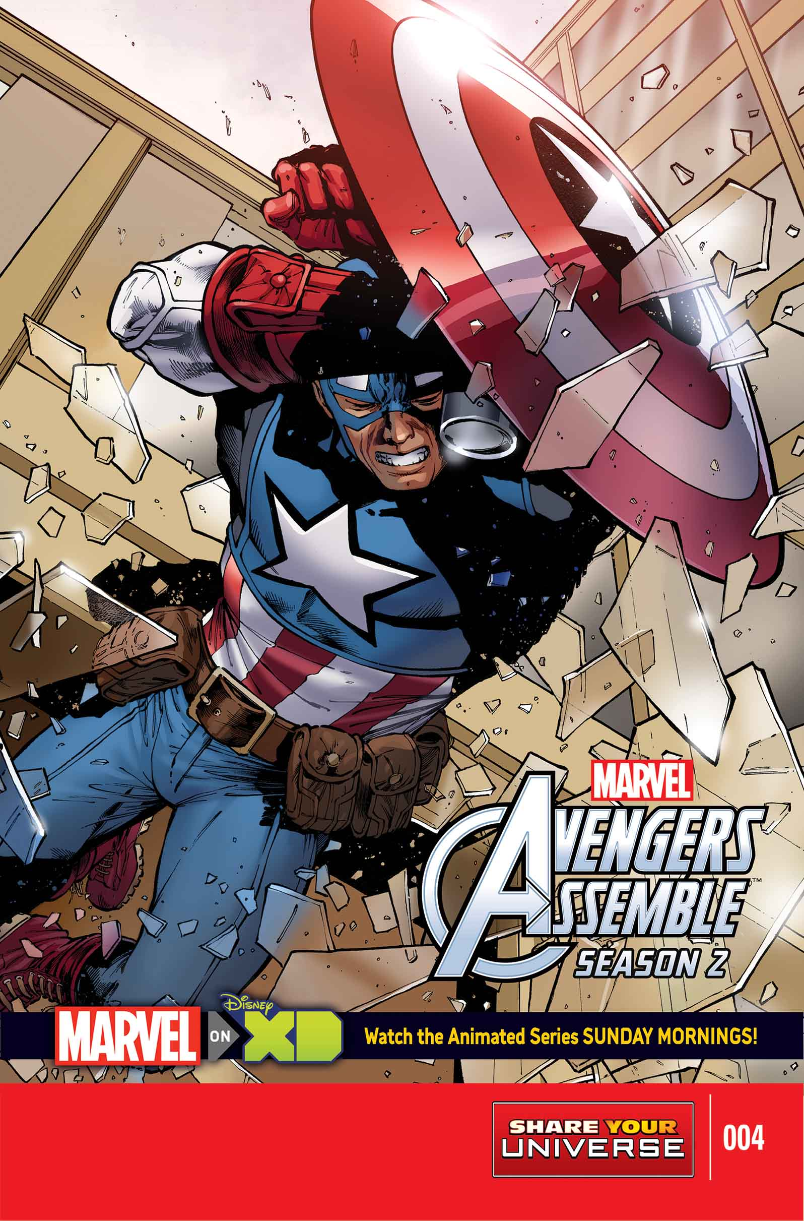 Marvel Universe Avengers Assemble Season Two (2014) #4