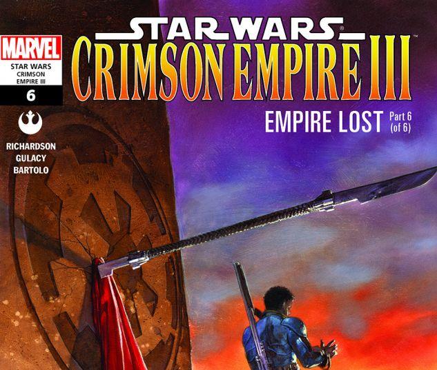 Star Wars: Crimson Empire III - Empire Lost (2011) #6