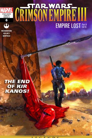 Star Wars: Crimson Empire Iii - Empire Lost #6