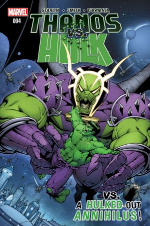 Thanos Vs. Hulk #4