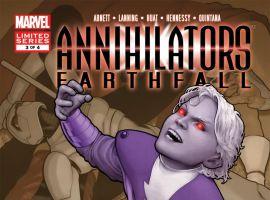 Annihilators: Earthfall (2011) #3 Cover