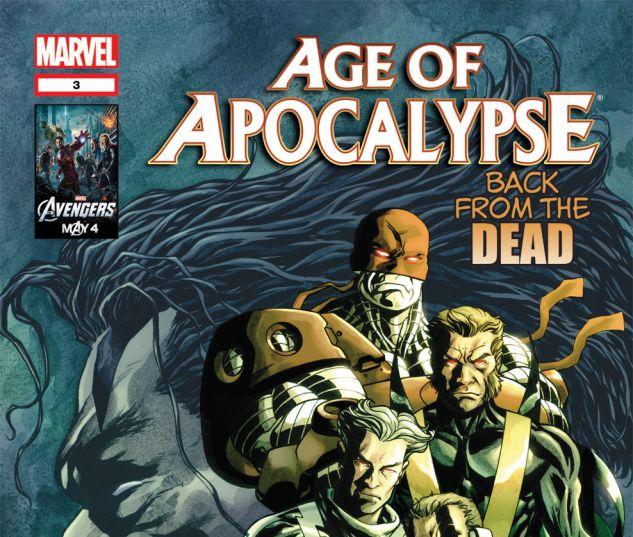 AGE OF APOCALYPSE (2011) #3 Cover