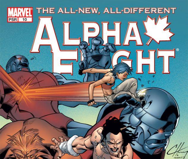 ALPHA FLIGHT (2004) #10 Cover