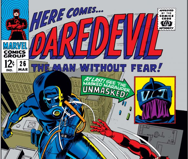 DAREDEVIL (1964) #26 Cover
