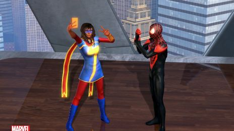Team Up With Ms. Marvel & Spider-Man in Marvel H