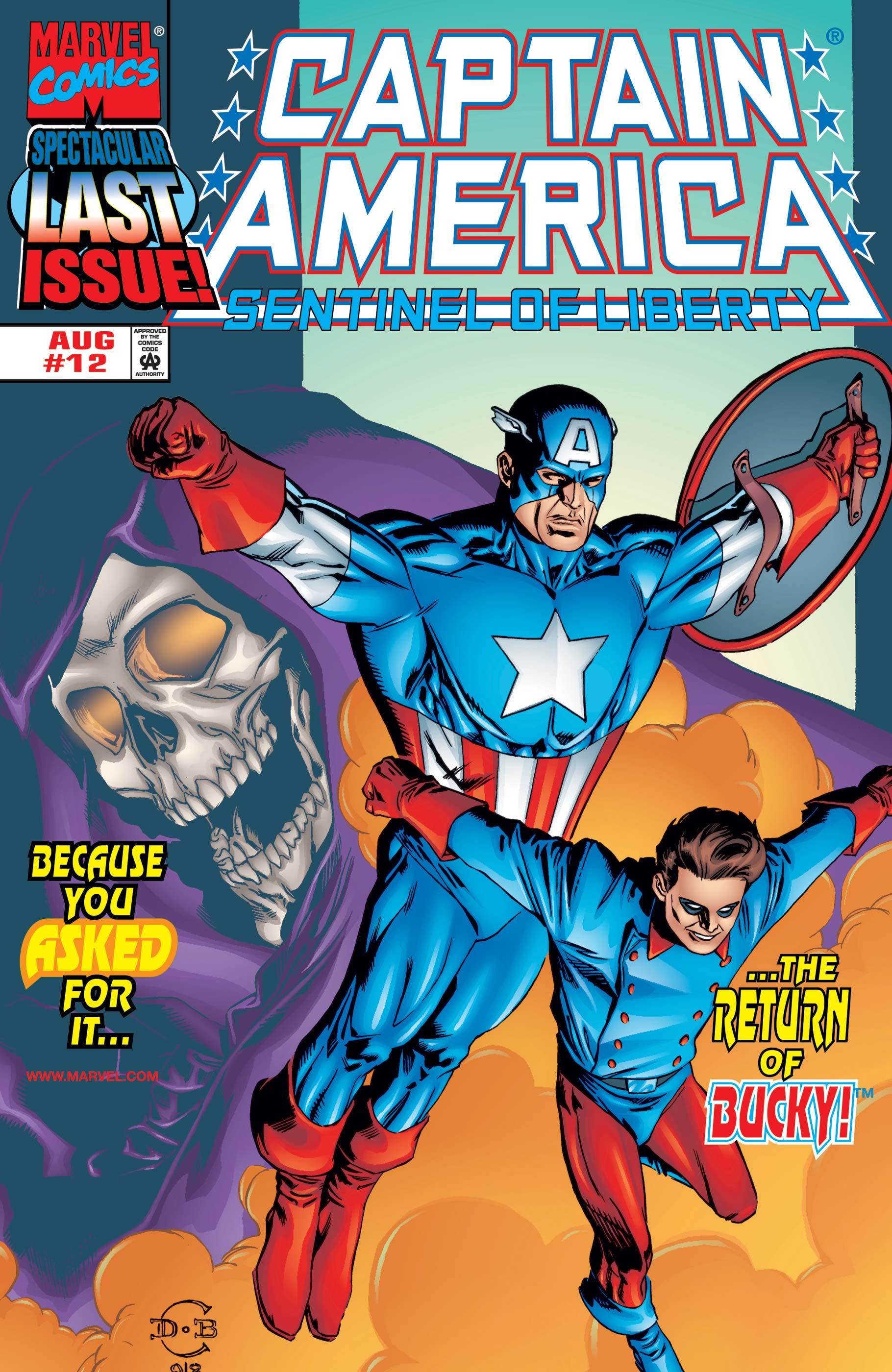 Captain America: Sentinel of Liberty (1998) #12