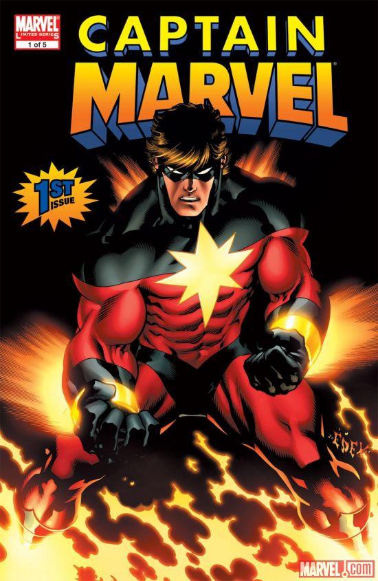 Captain Marvel (2008) #1