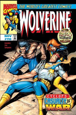 Wolverine (1988) #118