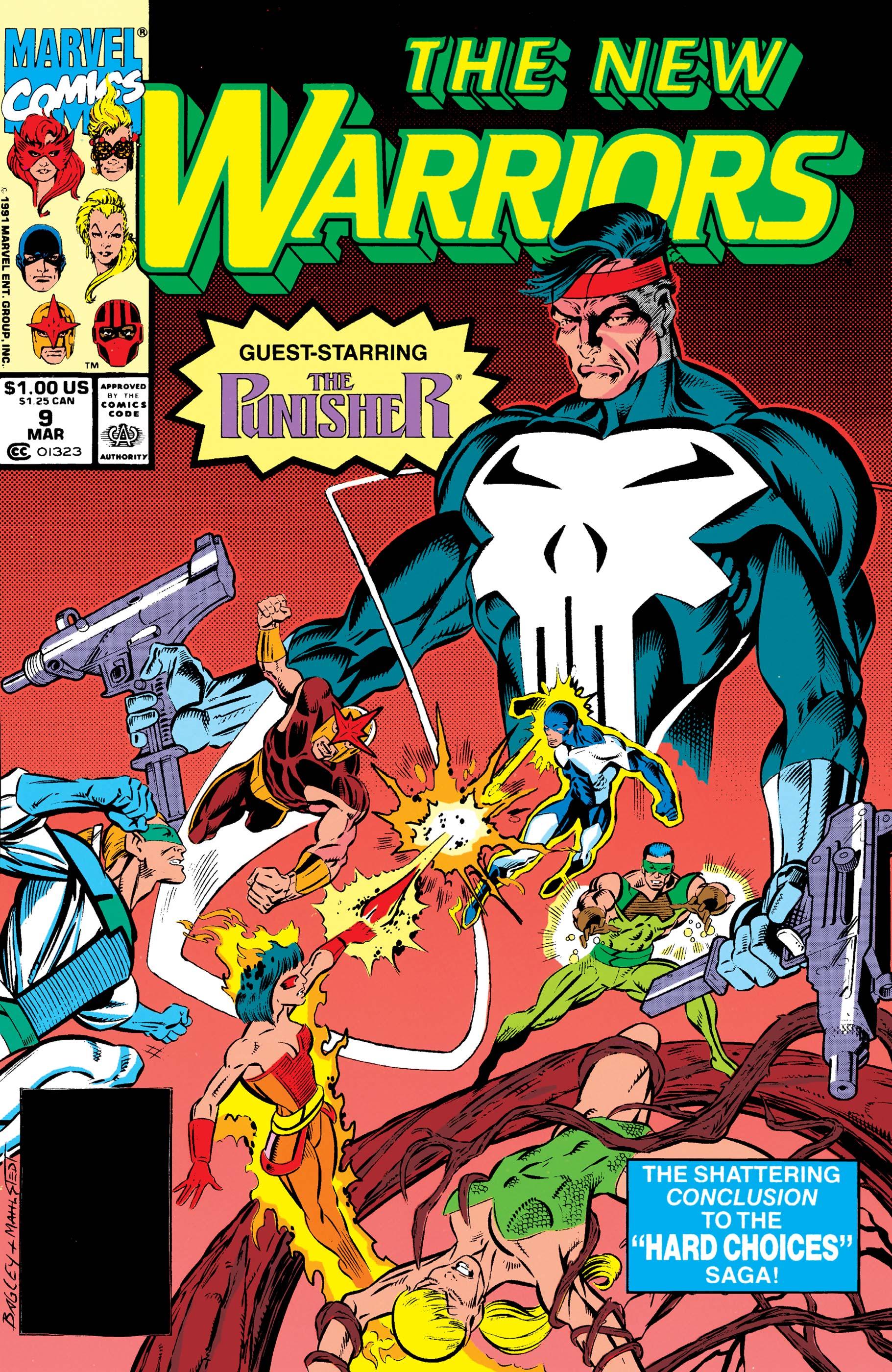 New Warriors (1990) #9