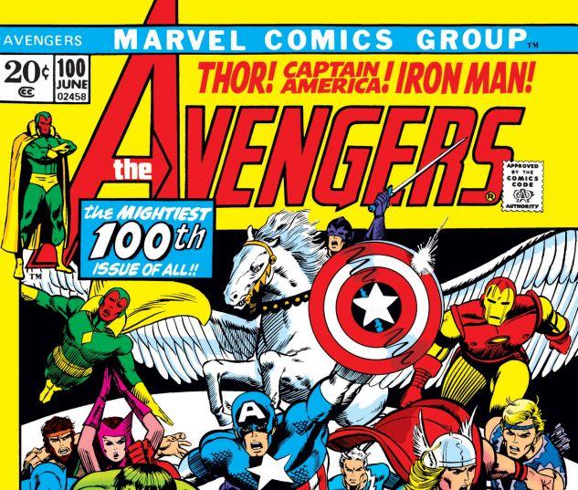 AVENGERS (1963) #100
