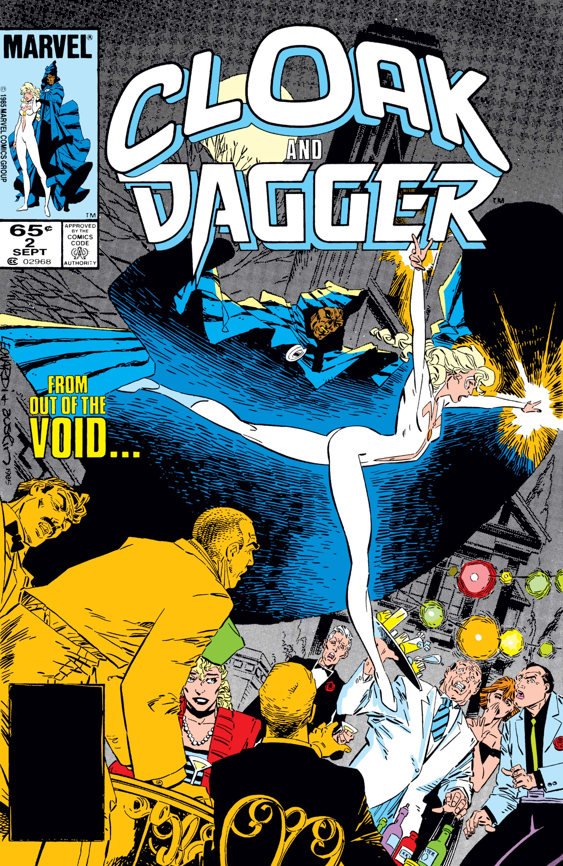 Cloak and Dagger (1985) #2