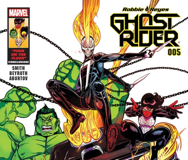 cover from Ghost Rider (2016) #5