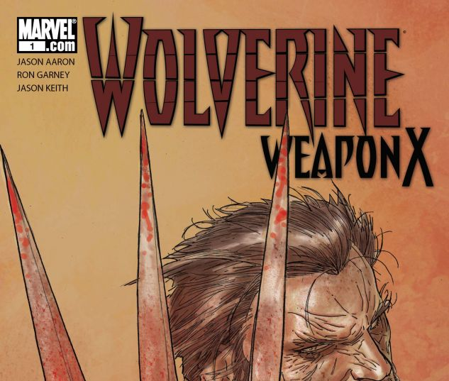 WOLVERINE WEAPON X (2009) #1