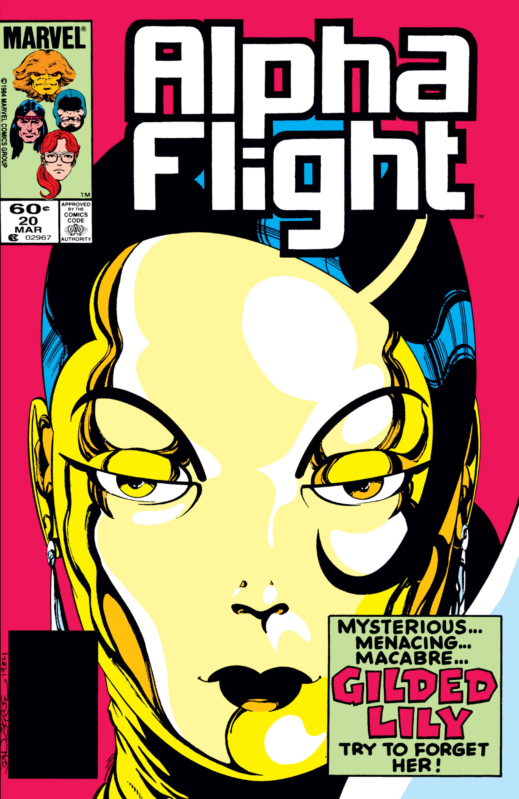 Alpha Flight (1983) #20