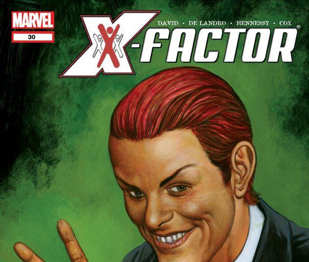 X-FACTOR (2005) #30