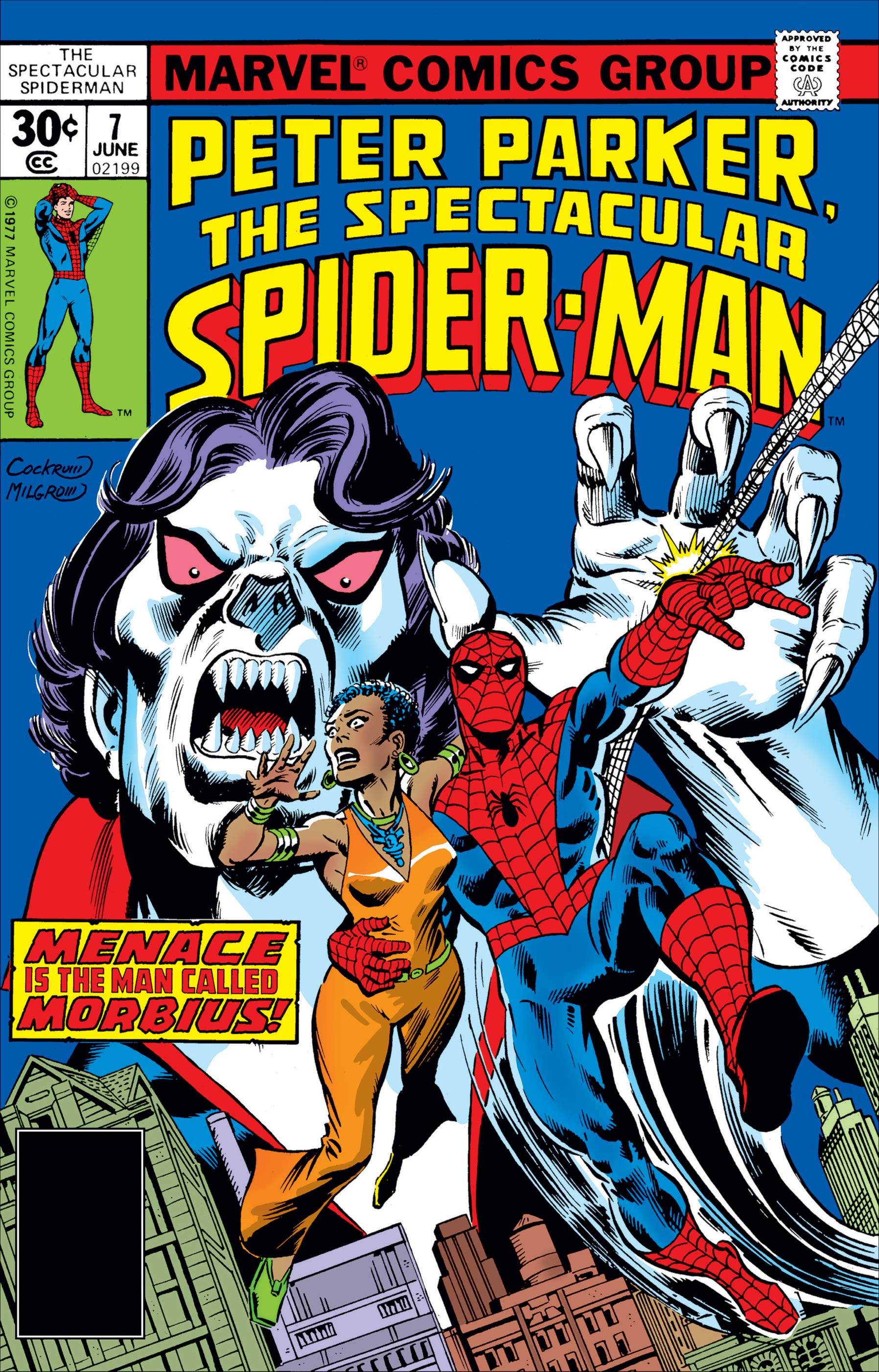Peter Parker, the Spectacular Spider-Man (1976) #7