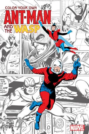 Color Your Own Ant-Man and the Wasp (Trade Paperback)