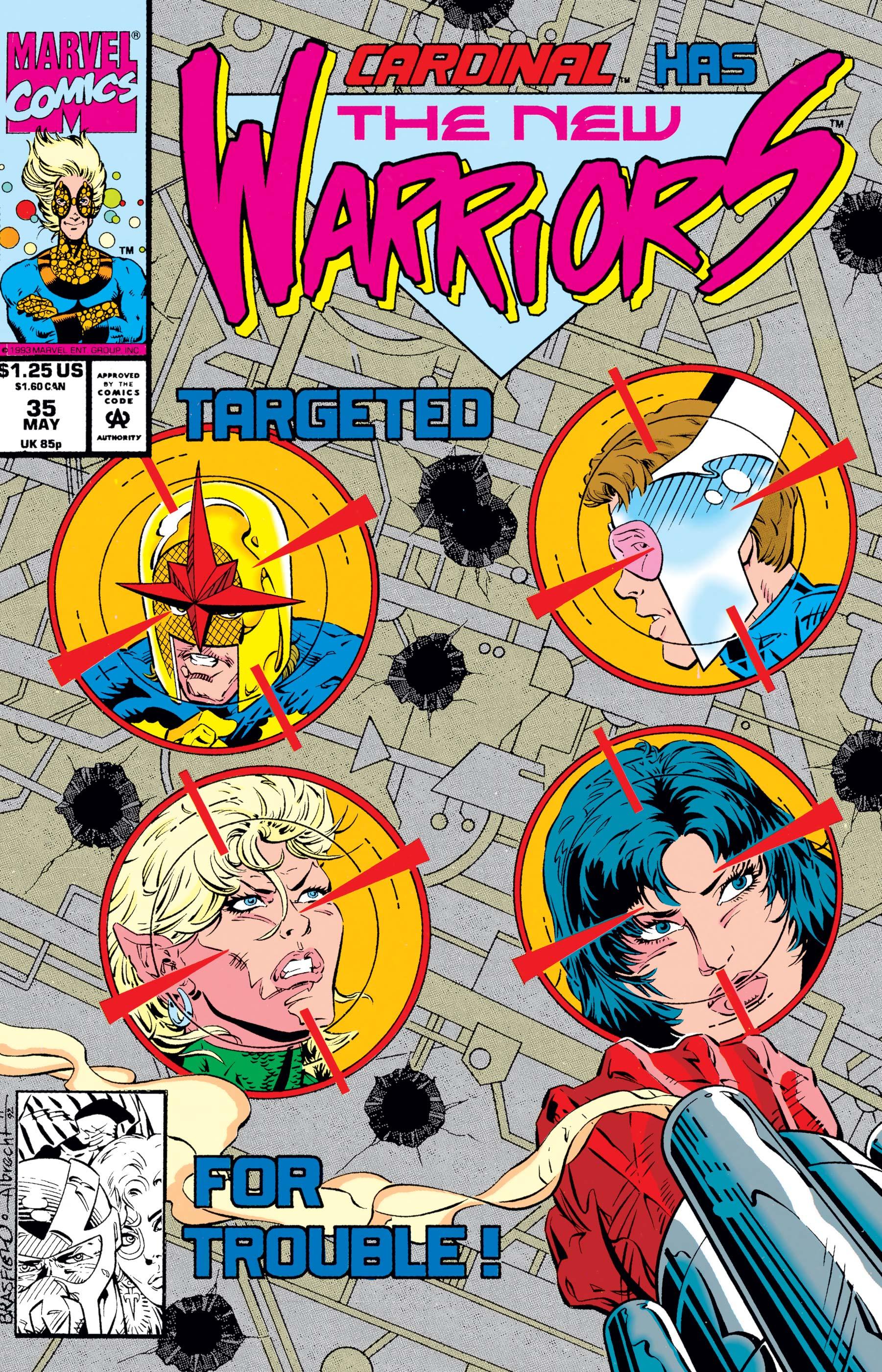 New Warriors (1990) #35
