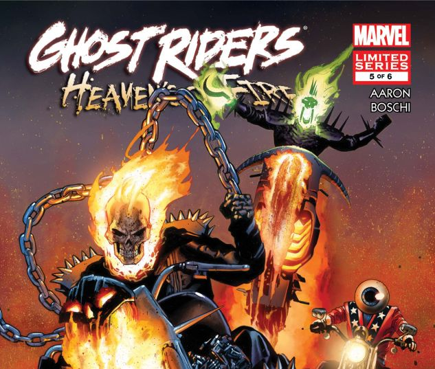 GHOST RIDERS: HEAVEN'S ON FIRE (2009) #5