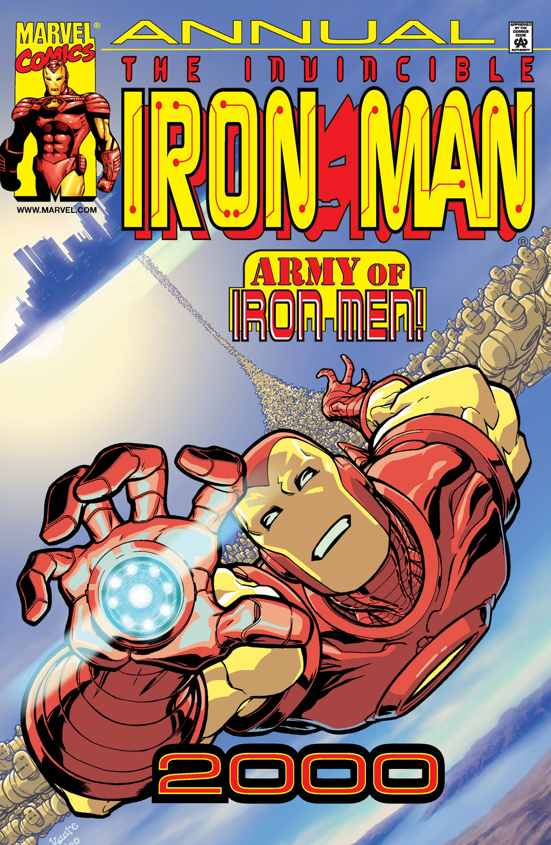 Iron Man Annual (2000) #1