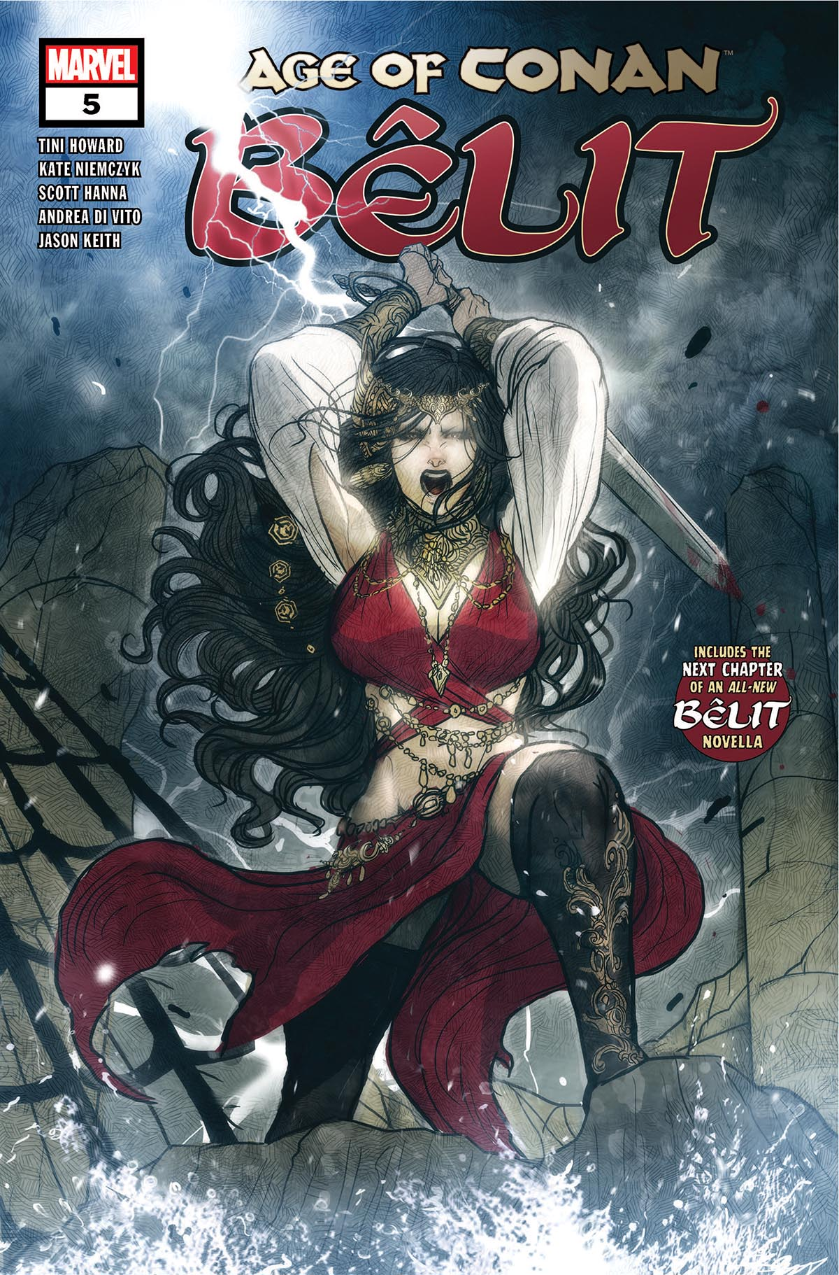 Age of Conan: Belit (2019) #5
