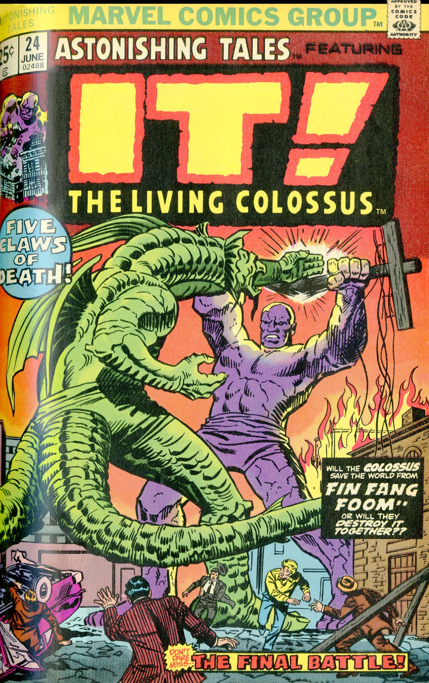 Astonishing Tales (1970) #24