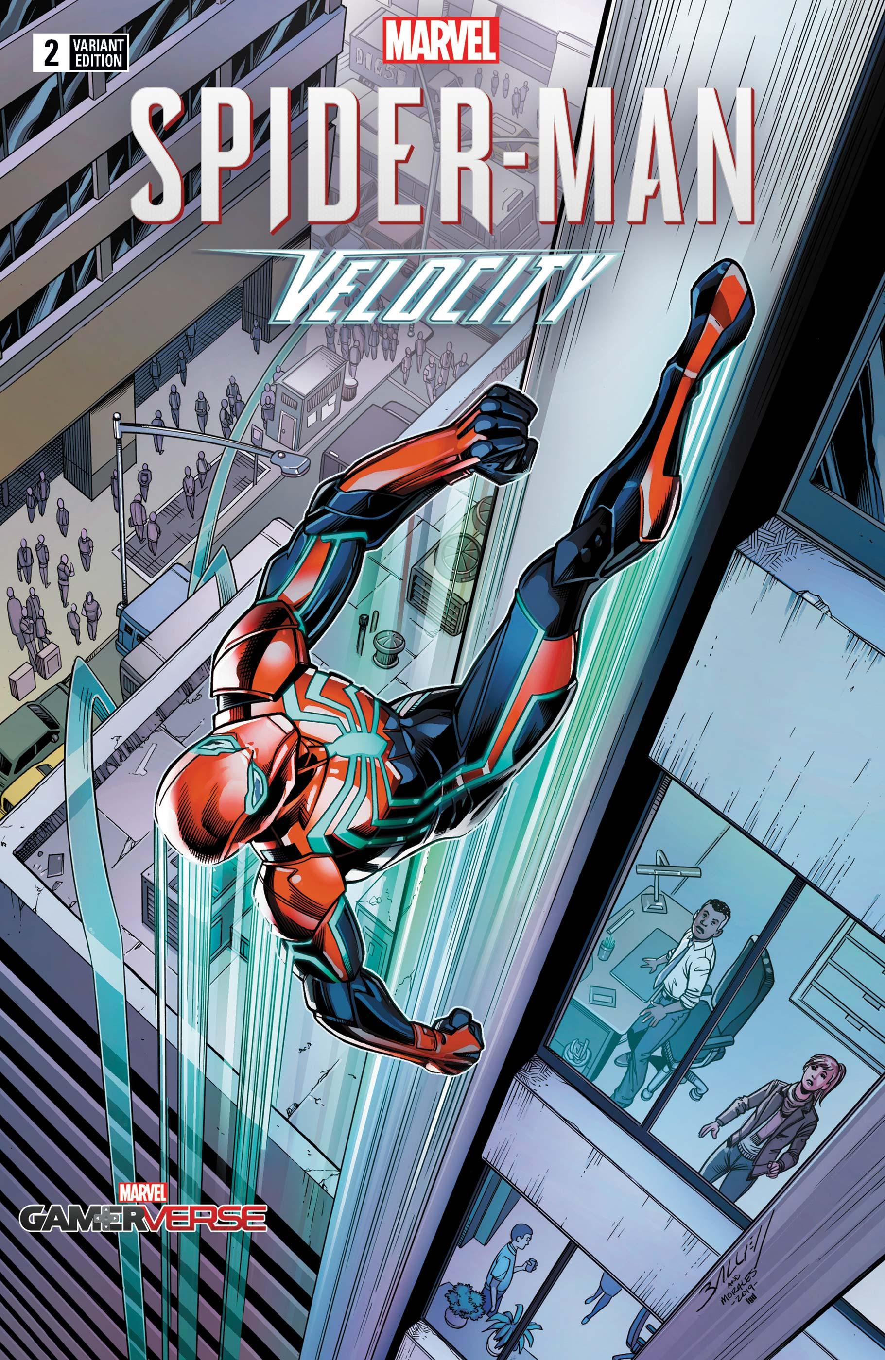 Marvel's Spider-Man: Velocity (2019) #2 (Variant)