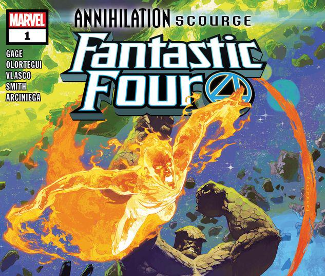 ANNIHILATION - SCOURGE: FANTASTIC FOUR 1 #1