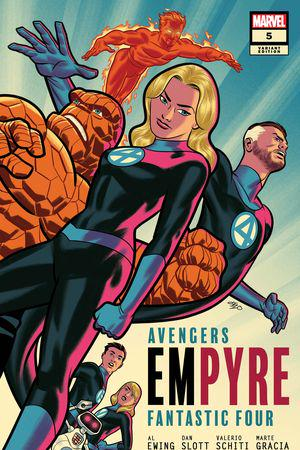 Empyre #5  (Variant)