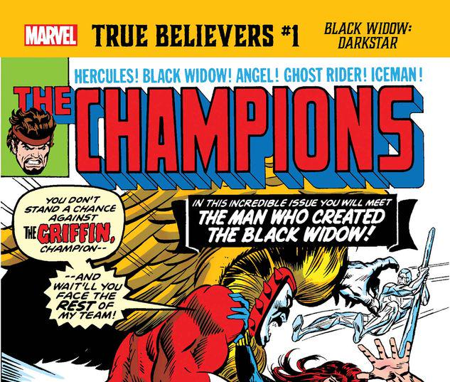 TRUE BELIEVERS: BLACK WIDOW - DARKSTAR 1 #1
