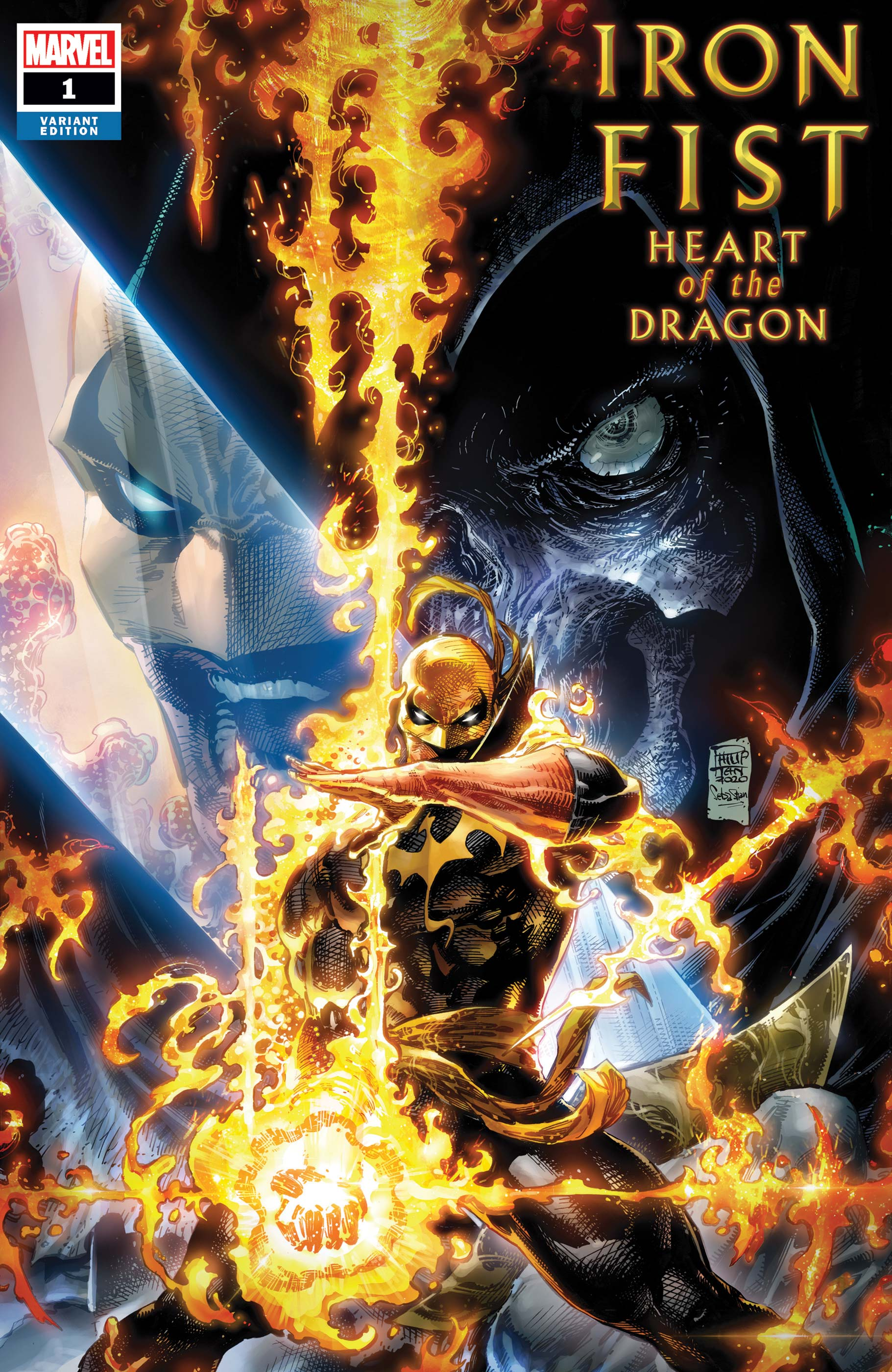 Iron Fist: Heart of the Dragon (2021) #1 (Variant)