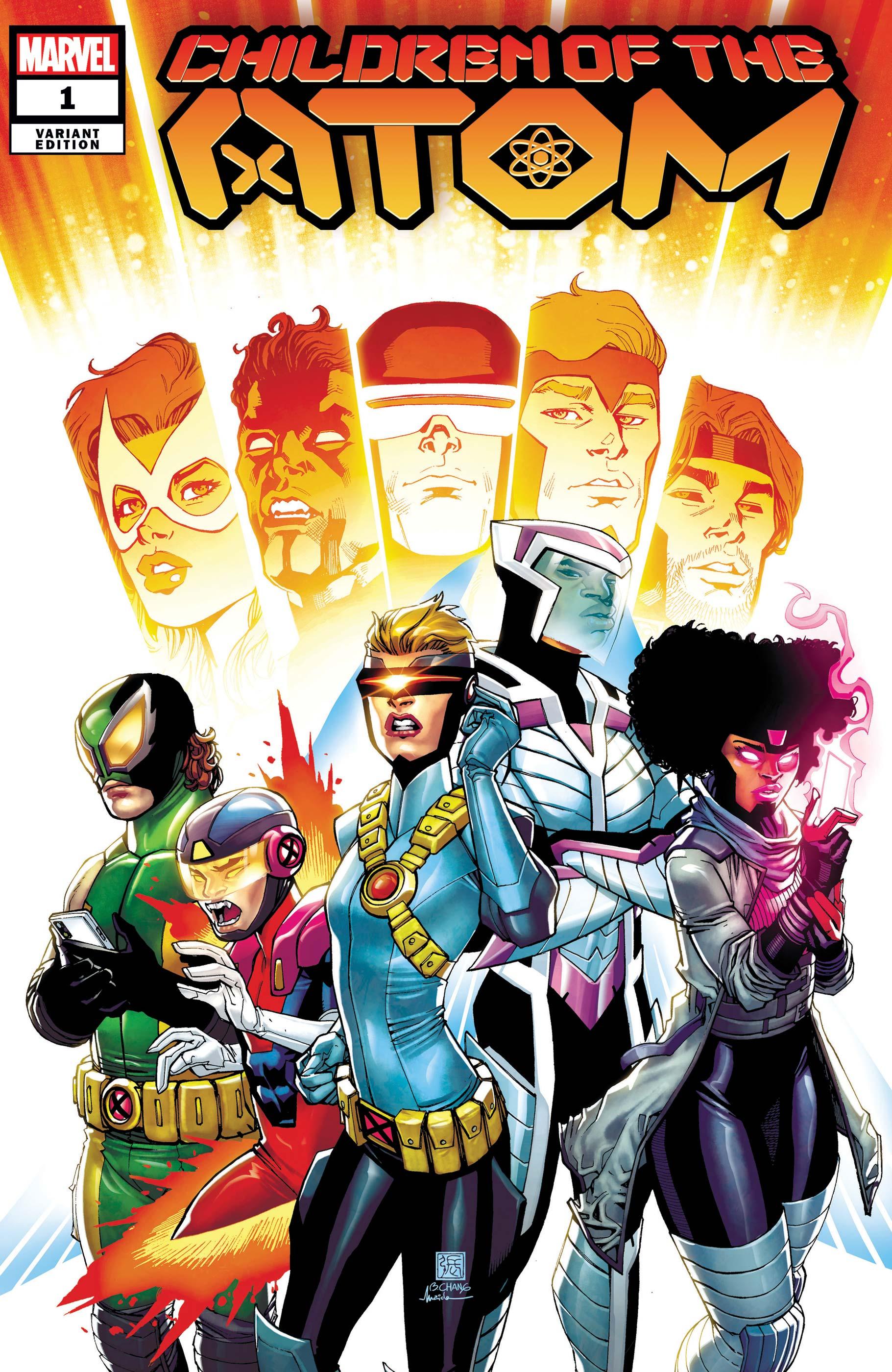 Children of the Atom (2021) #1 (Variant)