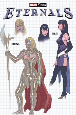 Eternals (2021) #3 (Variant)