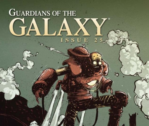 Guardians of the Galaxy (2008) #25 (IRON MAN BY DESIGN VARIANT)