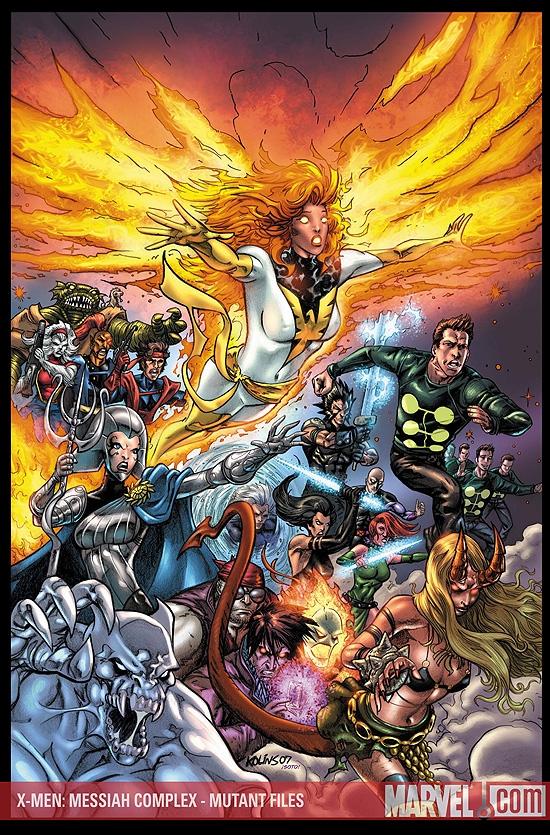 X-Men: Messiah Complex - Mutant Files (2007) #1
