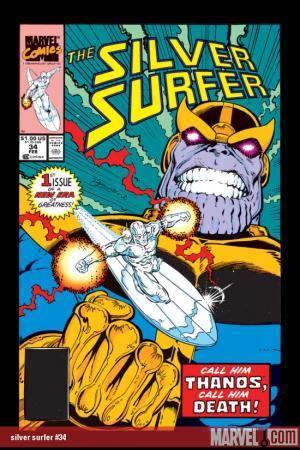 Silver Surfer (1987) #34