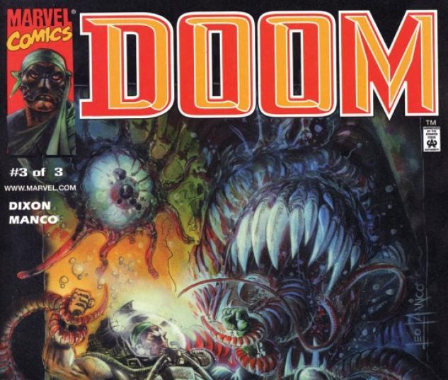 DOOM #3 COVER